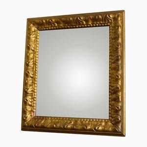 Specchio antico dorato