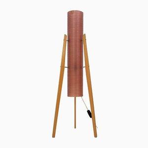 Lámpara en forma de cohete era espacial Mid-Century, años 70