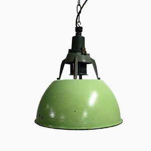 Lámpara colgante industrial vintage, años 60
