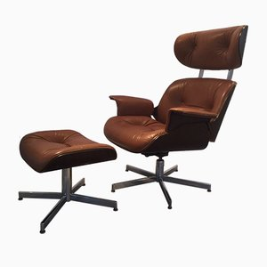 Lounge Chair & Ottoman from Playcraft, 1960s