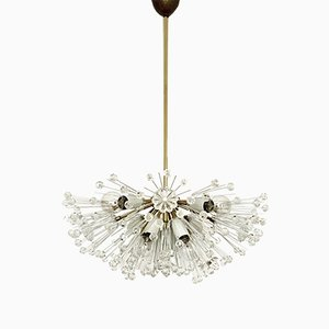 Dandelion Chandelier by Emil Stejnar for Rupert Nikoll, 1950s