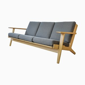 GE290 3-Seater Sofa by Hans J. Wegner for Getama, 1960s