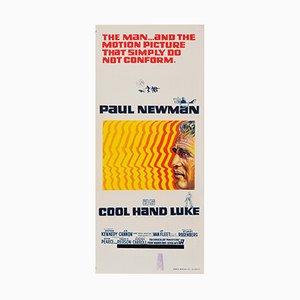 Vintage Australian Cool Hand Luke Film Poster, 1967