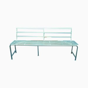 Industrial Metal Bench, 1950s