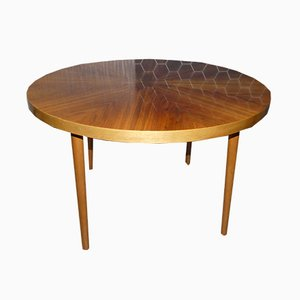 Vintage Round Coffee Table, 1960s