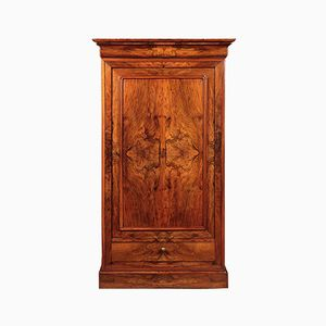 19th-Century French Walnut Cupboard