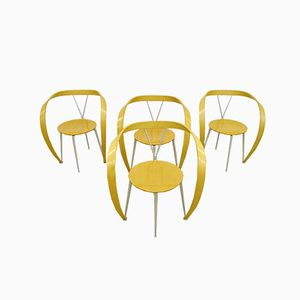 Revers Chairs by Andrea Branzi for Cassina, 1990s, Set of 4