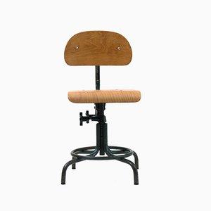 Chaise Pivotante Modèle 235 Vintage Industrielle, 1960s