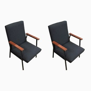 Vintage Easy Chairs, 1970s, Set of 2