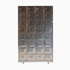 Vintage Industrial Metal Cabinet, 1940s