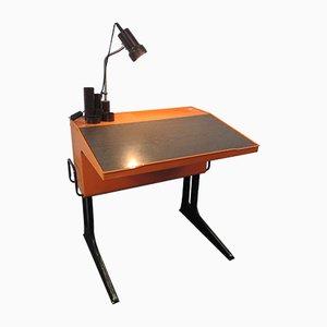 Orangener Kinder-Schreibtisch von Luigi Colani für Flötotto, 1970er