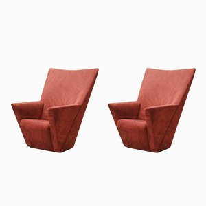 Revolving Armilla Armchairs by Burkhard Voghterr for Arflex, 1990s, Set of 2