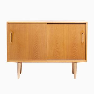 Mid-Century Oak Sideboard by Carlo Jensen for Hundevad & Co., 1960s