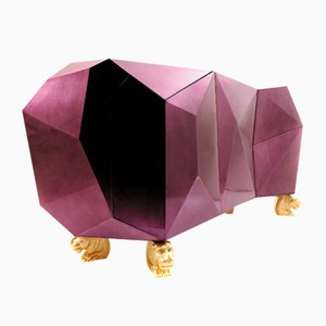 Credenza Diamond Amethyst di Covet Paris