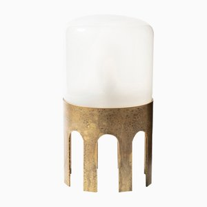 Tplg#1 Antiquated Brass Table Lamp from Daythings