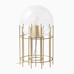 Tplg#3 Satin Brass Table Lamp from Daythings