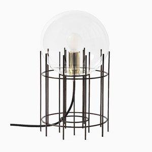 Tplg#3 Tischlampe aus schwarz brüniertem Messing von Daythings