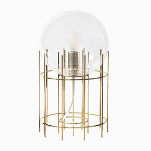 Tplg#3 Handmade Polished Brass Table Lamp from Daythings