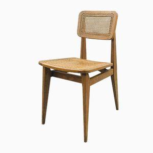 C Chair von Marcel Gascoin für Arhec, 1940er