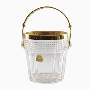 Glass Ice Bucket from Walther Glas, 1960s