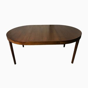 Mid-Century Circular Extending Dining Table