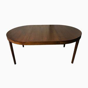Tavolo da pranzo allungabile rotondo Mid-Century