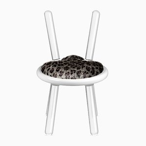 Silla Leopard serie Illusion de Covet Paris