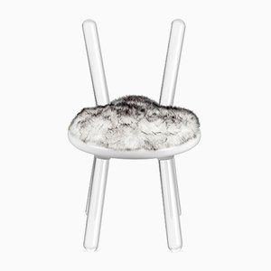 Illusion White Bear Chair from Covet Paris