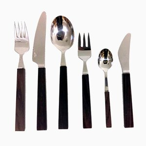 Vintage 6-Piece Cutlery Set by Bertel Gardberg for Fiskars