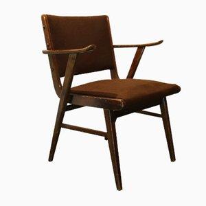 Mid-Century Scandinavian Brown Chair