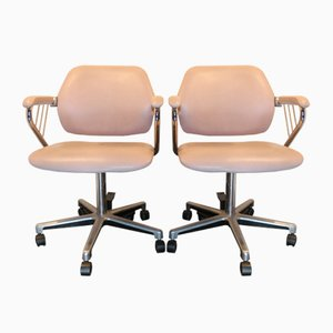 Vintage Swivel Chairs, 1960s, Set of 2