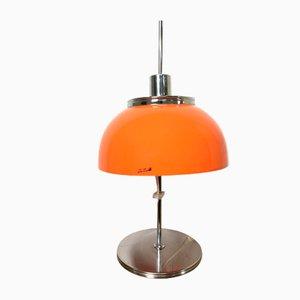 Lámpara era espacial de Harvey Guzzini, años 70