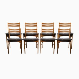 Vintage Danish Dining Chairs, 1950s, Set of 8