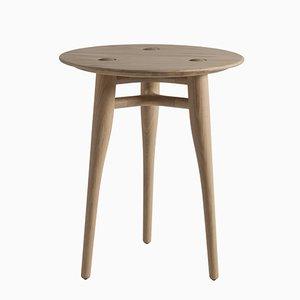 Tavolino da caffè Chilgrove 50 in quercia di Sjoerd Vroonland per Revised