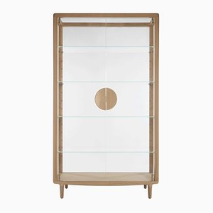 Falmer Vitrine in Oak by Sjoerd Vroonland for Revised