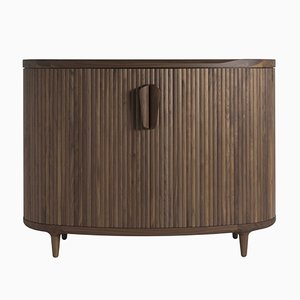 Amberley High Walnut Cabinet by Sjoerd Vroonland for Revised