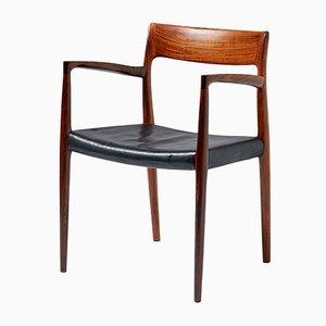 Modell 57 Armlehnstuhl aus Palisander von N. O. Møller für J.L. Møllers, 1959