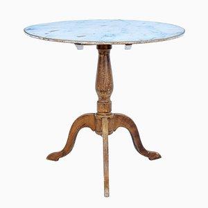 Tavolo con ripiano ribaltabile, Svezia, XIX secolo