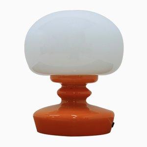 Lampada da tavolo in vetro, anni '70
