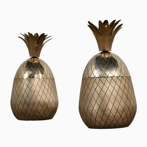 Cajas en forma de piña, años 60