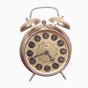 Reloj despertador vintage, 1972