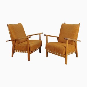 Armchairs by Jan Vaněk for Krásná Jizba, 1950s, Set of 2