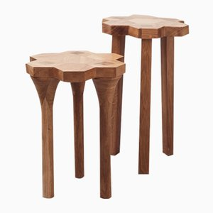 Luster Stools by Jesse Cracknell, 2016, Set of 2
