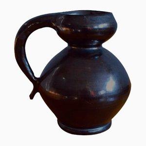 Vintage Rustic Ceramic Vase by Joseph Elie