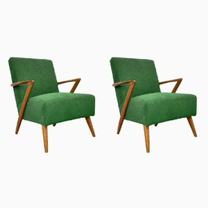 Vintage Club Chairs, 1960s, Set of 2