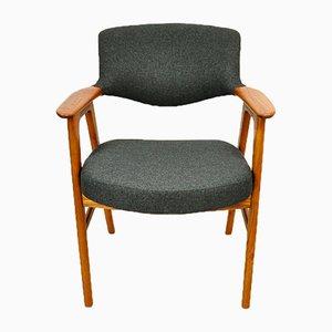 Chaise d'Appoint Vintage en Teck par Erik Kirkegaard pour Høng Stolefabrik, 1960s