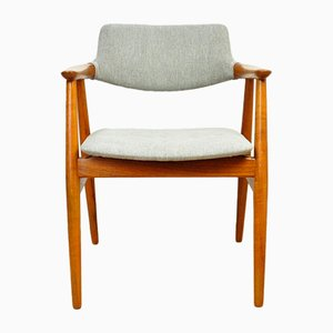 Vintage GM11 Teak Side Chair by Svend Åge Eriksen for Glostrup, 1950s