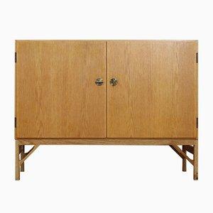 Danish Oak Cabinet by Børge Mogensen for FDB, 1960s