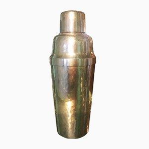 Shaker grande martellato e placcato in argento di WMF, anni '40