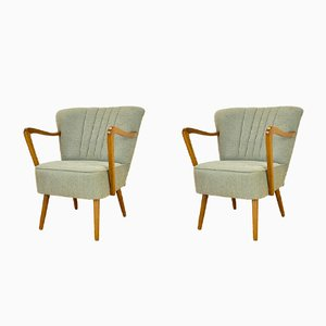 Mid-Century Cocktail Chairs, 1950s, Set of 2
